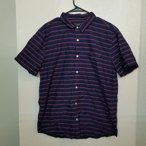 Forever 21 Striped Button Down Shirt. AMAZING! WOW